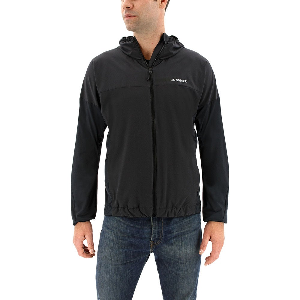 adidas Voyager Jacket Black - Mens  - Size