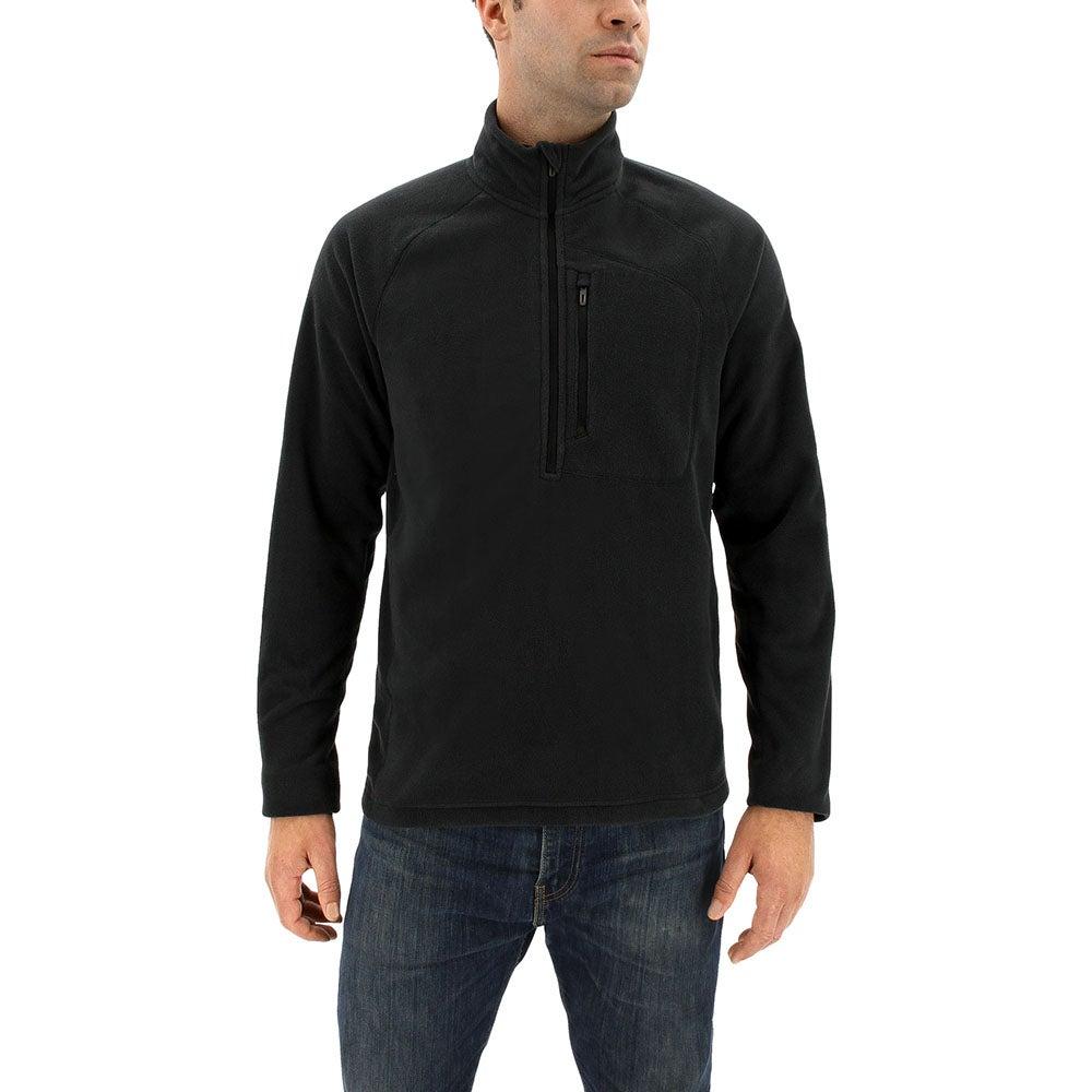 adidas Reachout 1/2 Zip Pullover Black - Mens  - Size L