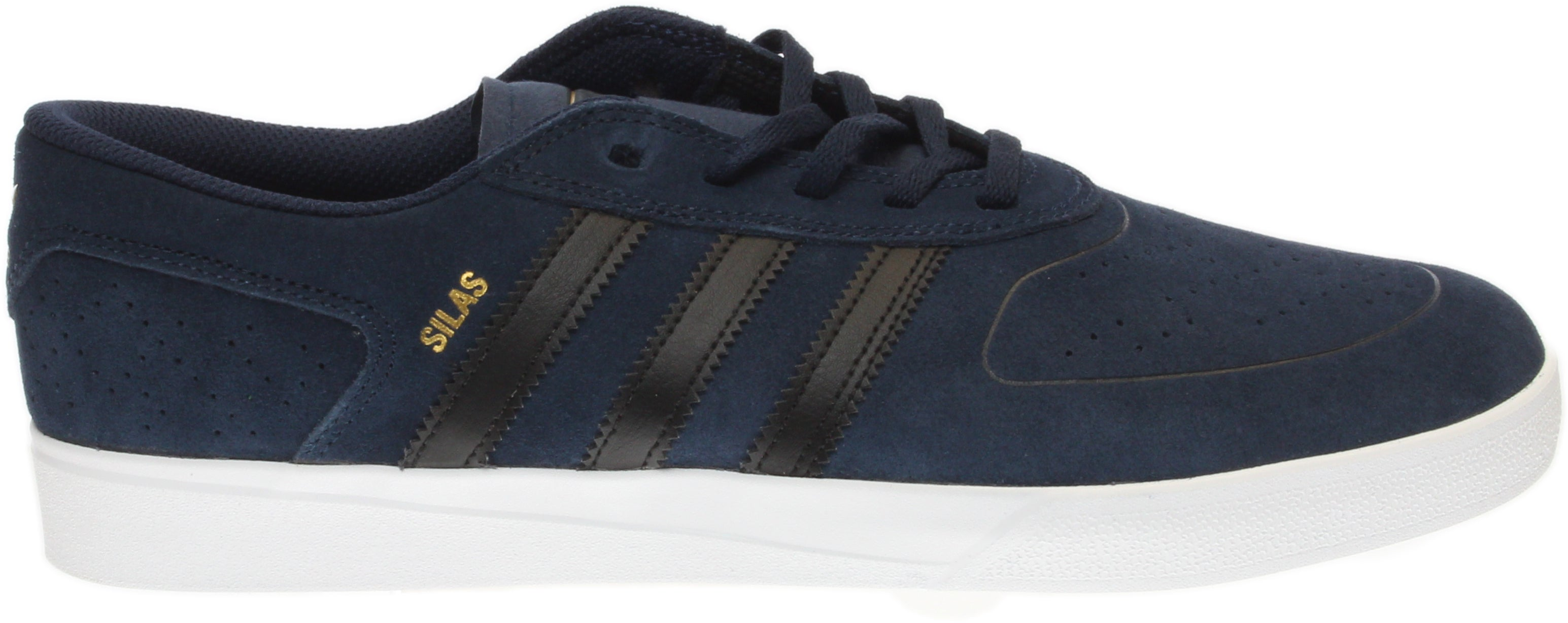 185122748b Details about adidas Silas Vulc Adv Skate Shoes - Navy - Mens