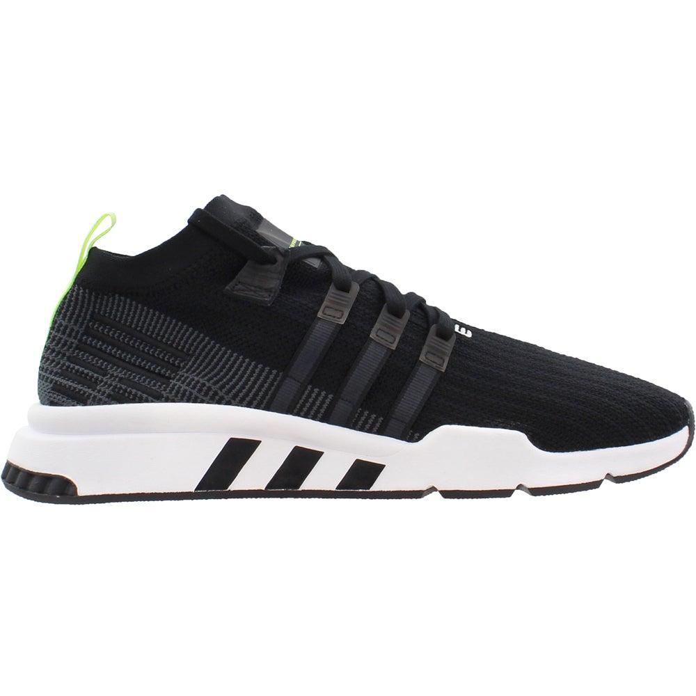 super popular 03313 d0e3c Details about adidas EQT Support Mid ADV Primeknit Sneakers - Black - Mens