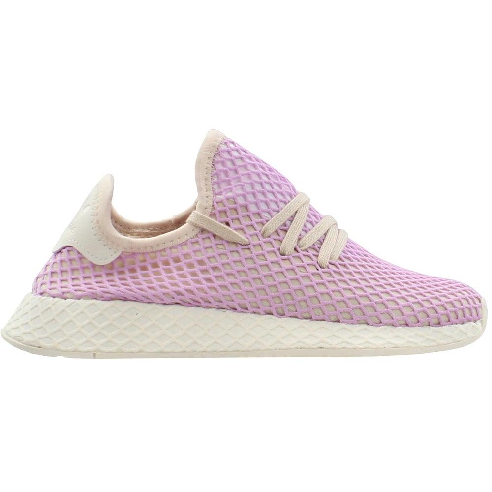 e6a659bde5b0 Details about adidas Deerupt Runner Running Shoes - Pink - Womens