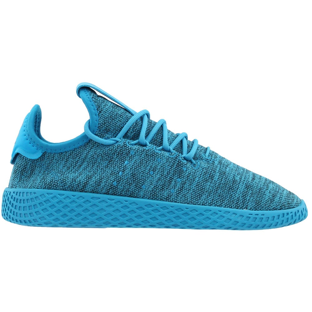 Details about adidas Pharrell Williams Tennis Hu Junior Casual Sneakers Blue Boys Size