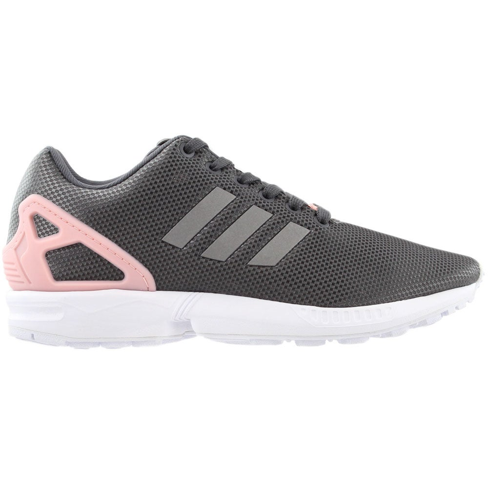 size 40 7d424 3c7e6 Details about adidas ZX Flux Casual Running Shoes - Grey - Womens