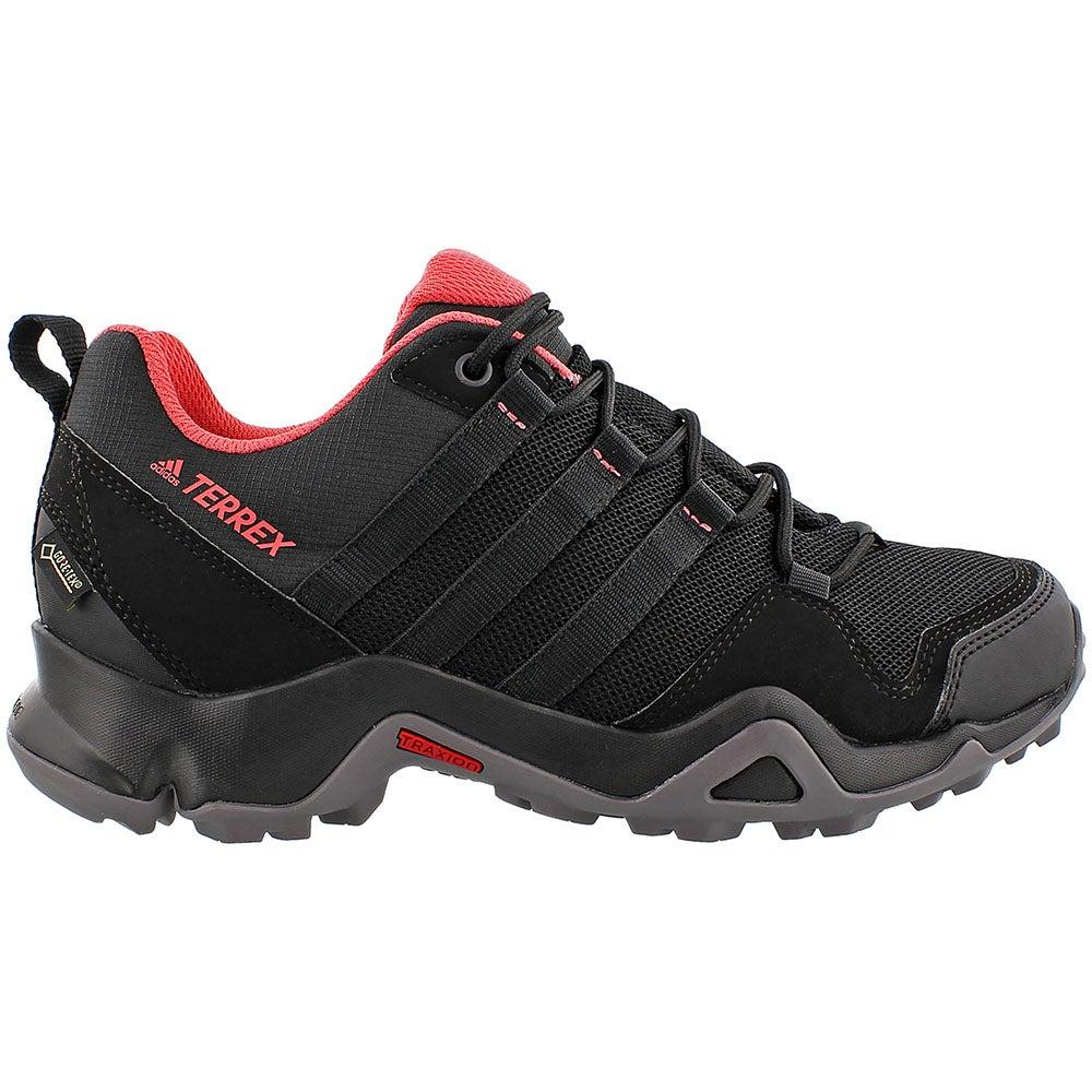 Adidas Terrex Ax2R GTX W Hiking Shoes- Black- Womens on SHOEBACCA ...
