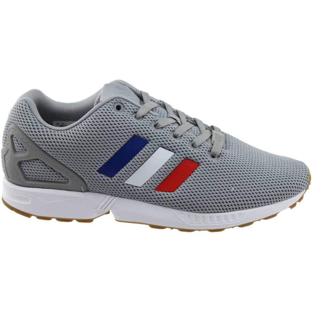the best attitude b6f9a 6c755 Details about adidas ZX FLUX - Grey - Mens