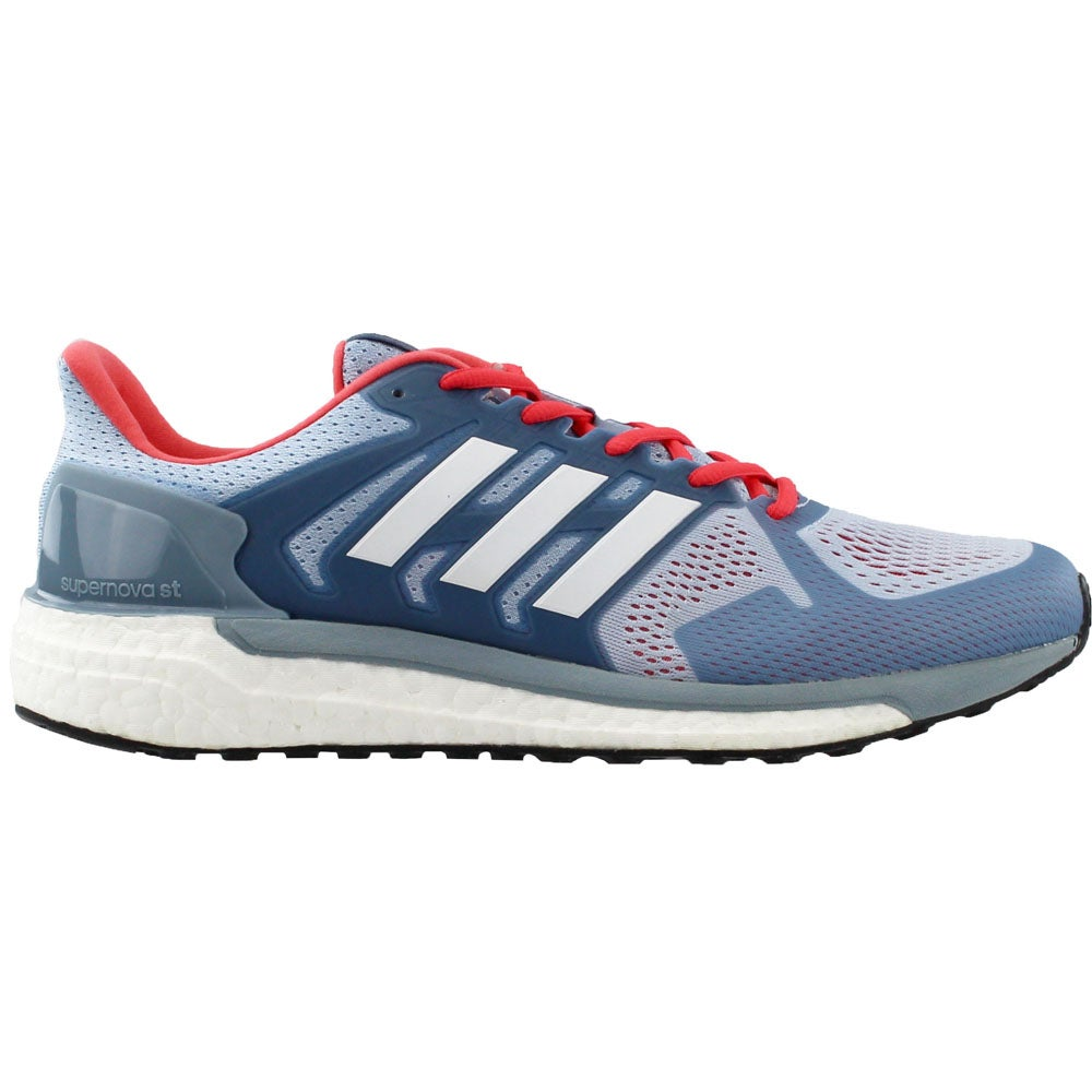 4642159813e44 Details about adidas Supernova St Running Shoes - Blue - Womens