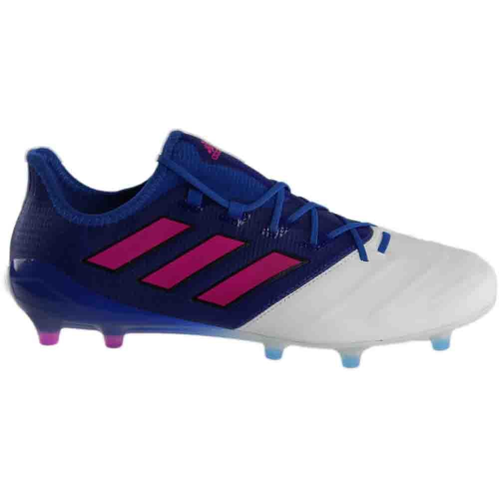 finest selection cda2e 36f64 Details about adidas ACE 17.1 LEATHER FG Blue;White - Mens - Size 7.5 D