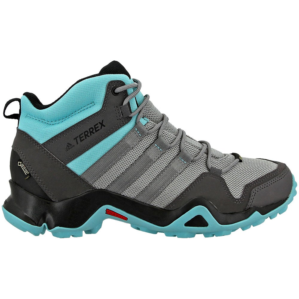 Adidasadidas Terrex Ax2R Mid GTX W Hiking Shoes- Grey- Womens ...