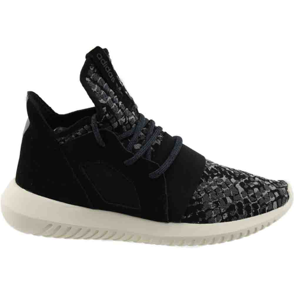 size 40 fbcdc 4fe5c Details about adidas Tubular Defiant Sneakers - Black - Womens
