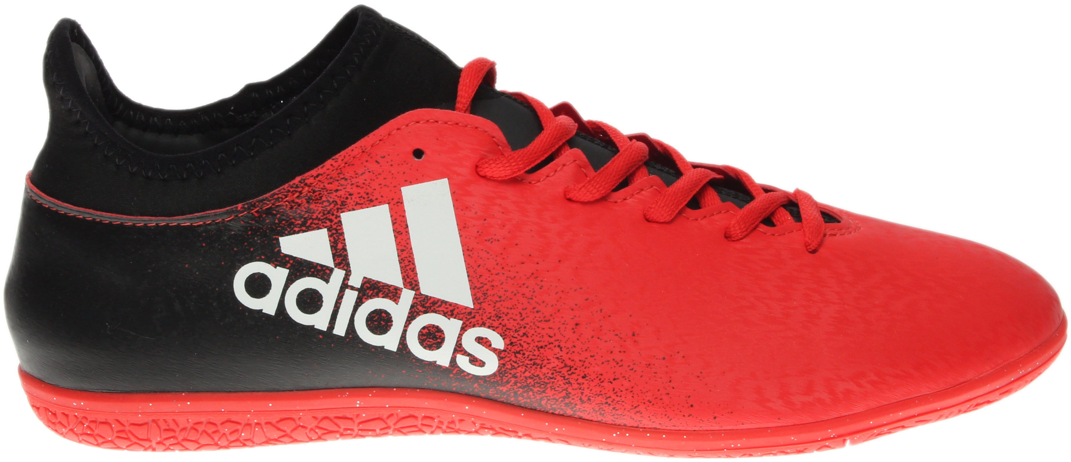 adidas X 16.3 Indoor Red - Mens  - Size 8.5