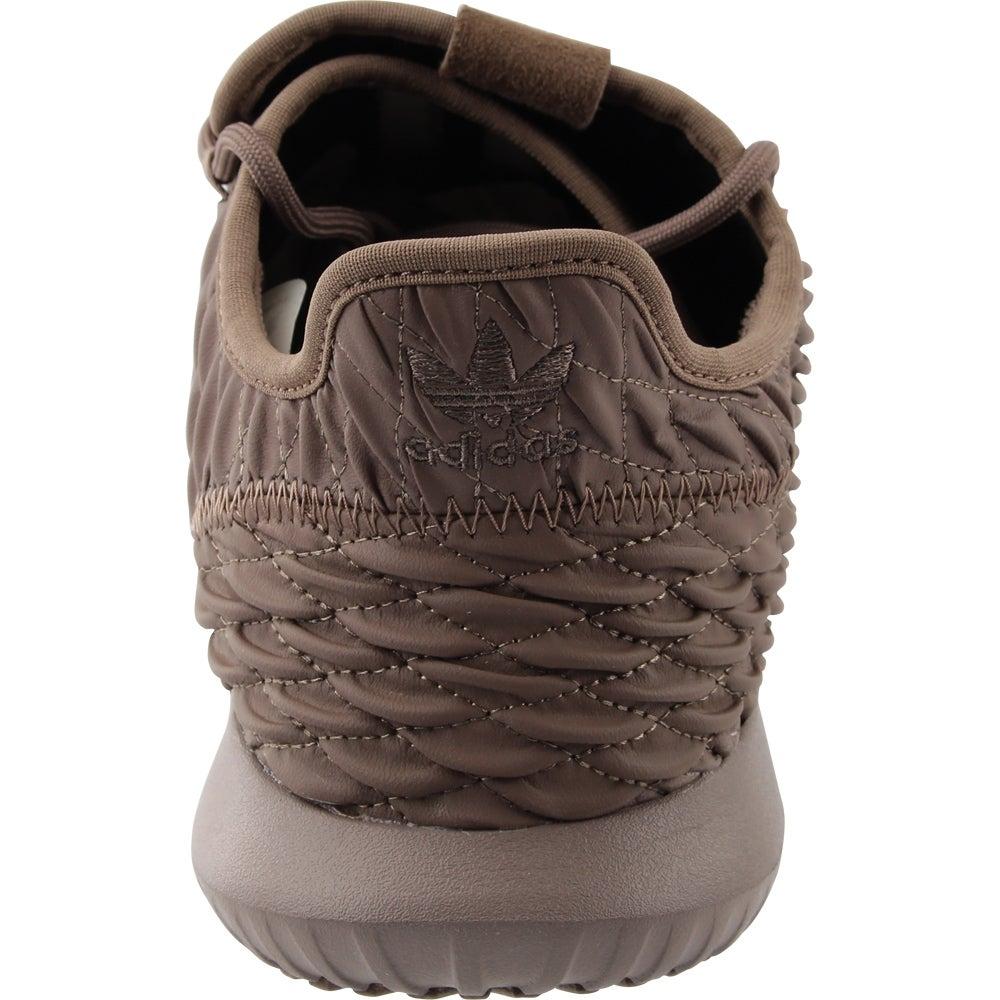 Uomini ombra adidas bb8974 tubulare traccia scarpe marroni 10 medio d m