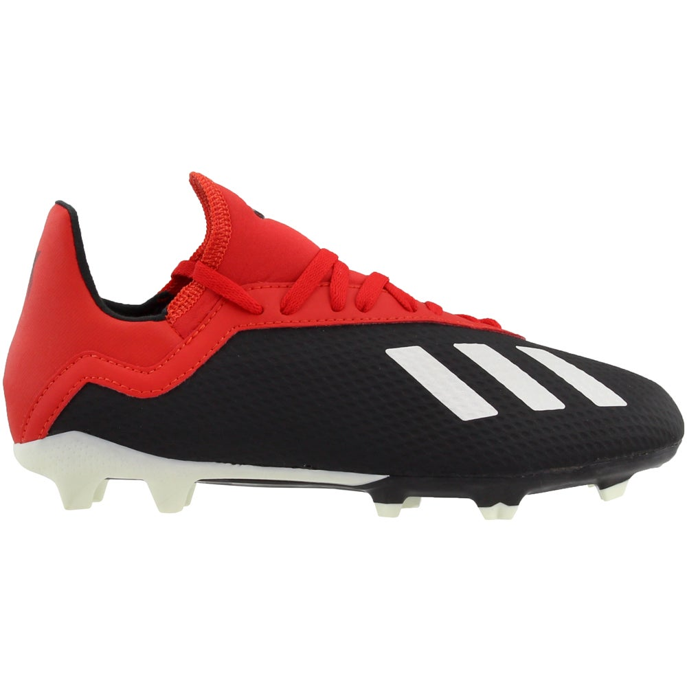 save off 0a4f6 59f76 Details about adidas X 18.3 Firm Ground Junior Casual Soccer Cleats - Black  - Boys