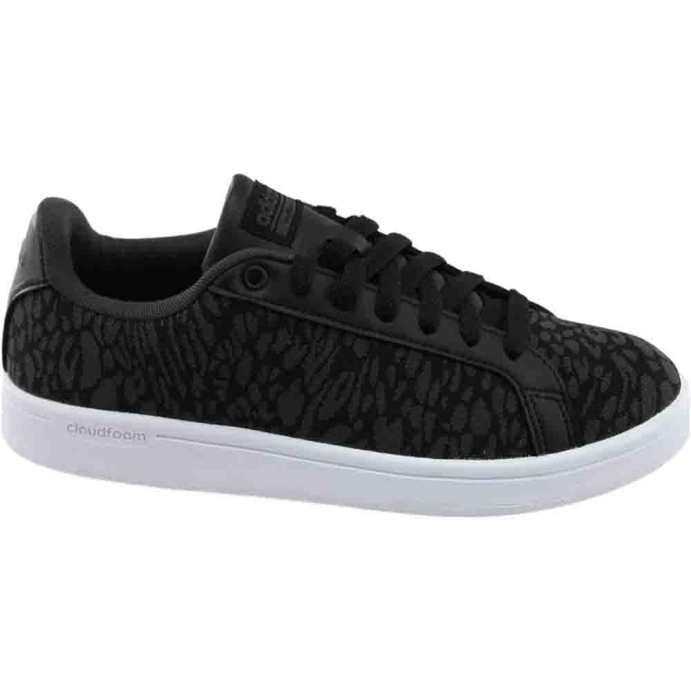 9fdcc0f387d2 Details about adidas Cf Advantage Cl Sneakers - Black - Womens