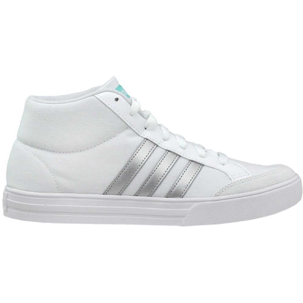 9688554bee12 Details about adidas VS SET MID Sneakers - White - Womens