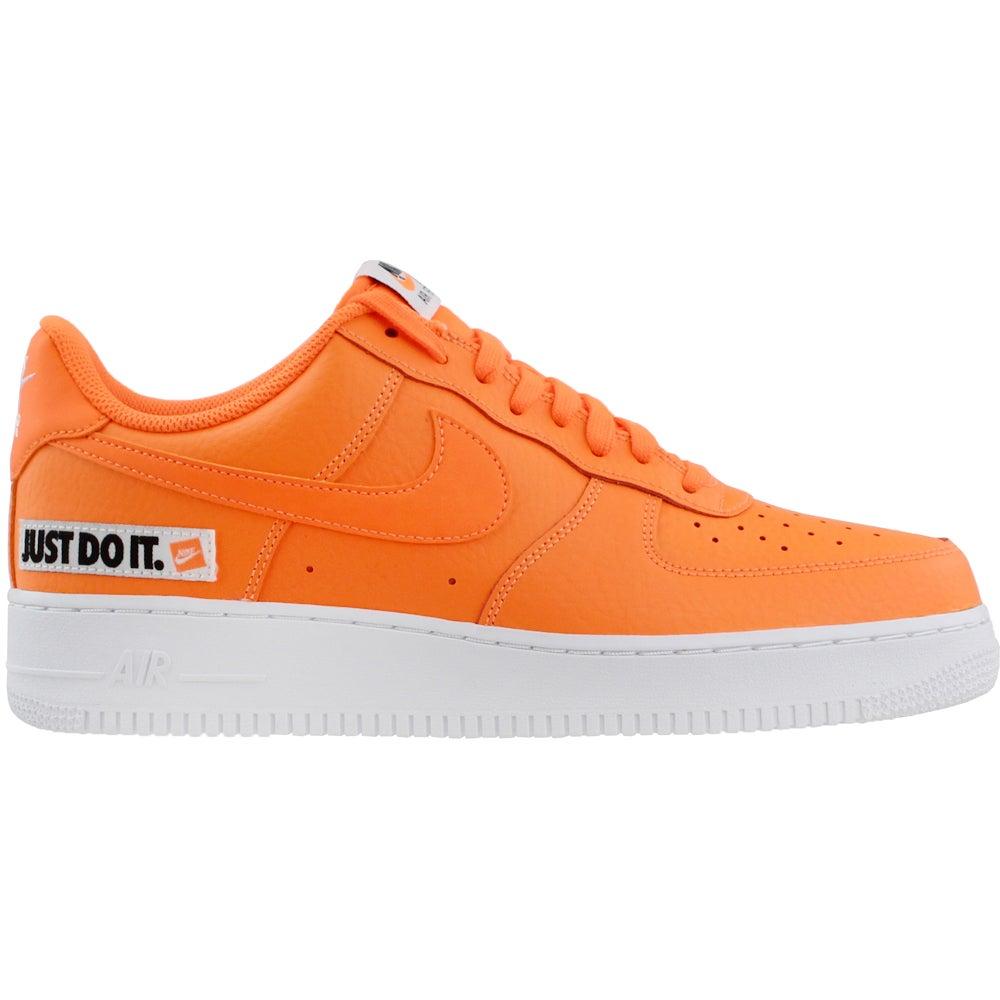 Nike Air Force 1 07 LV8 JDI Leather - Orange - Mens