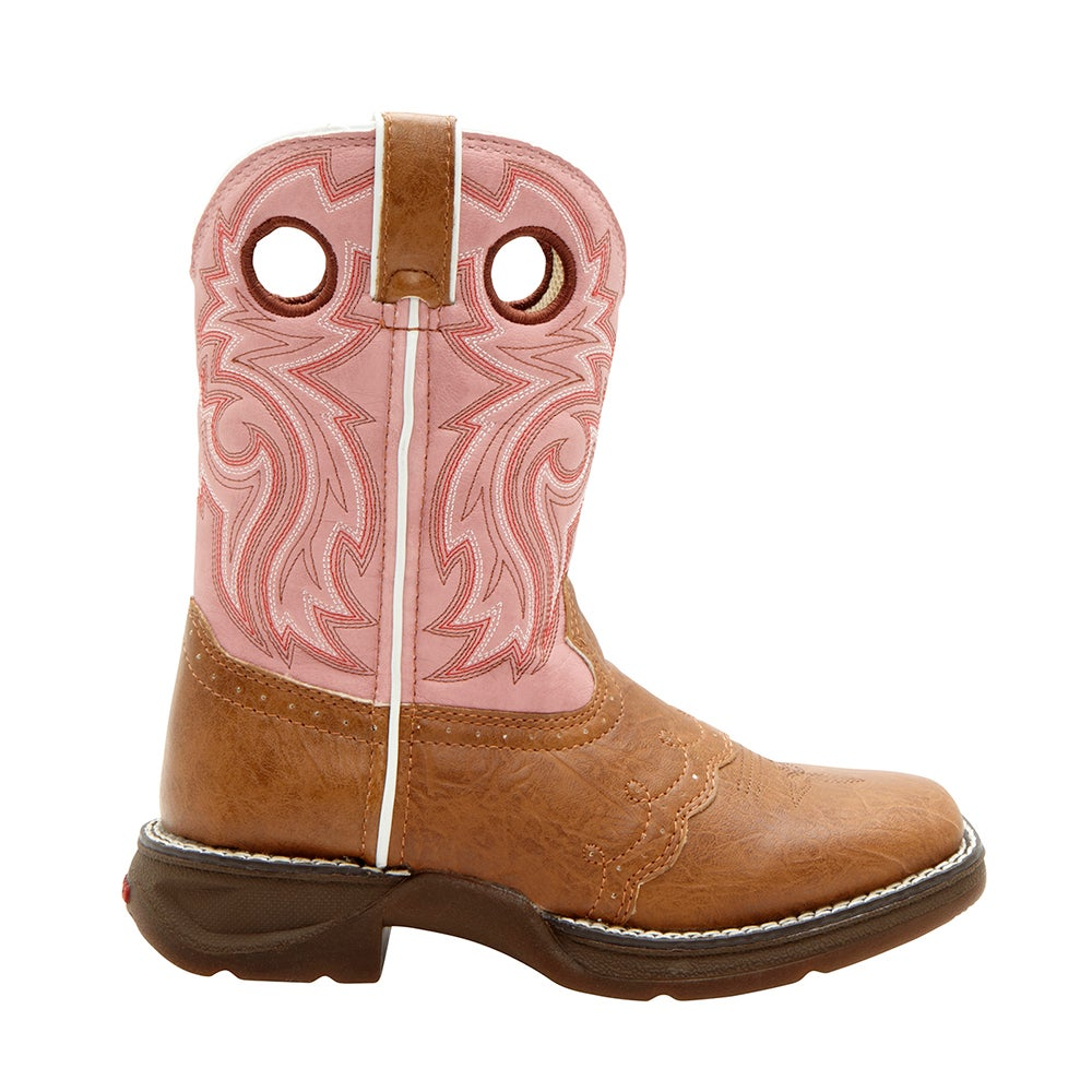 Lil' Durango Little Kid Tan Lacey Western Boot