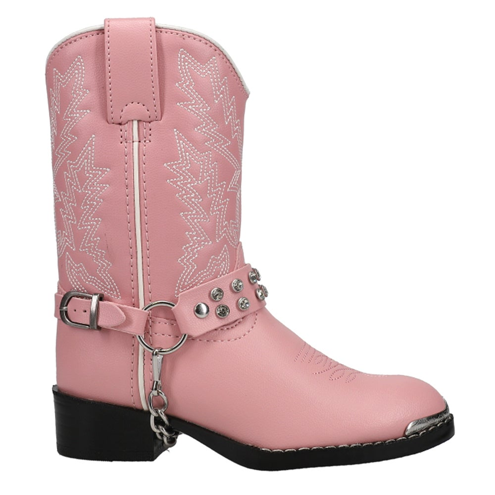 Lil Durango 8in Pink Bling Bling Toddler/Youth