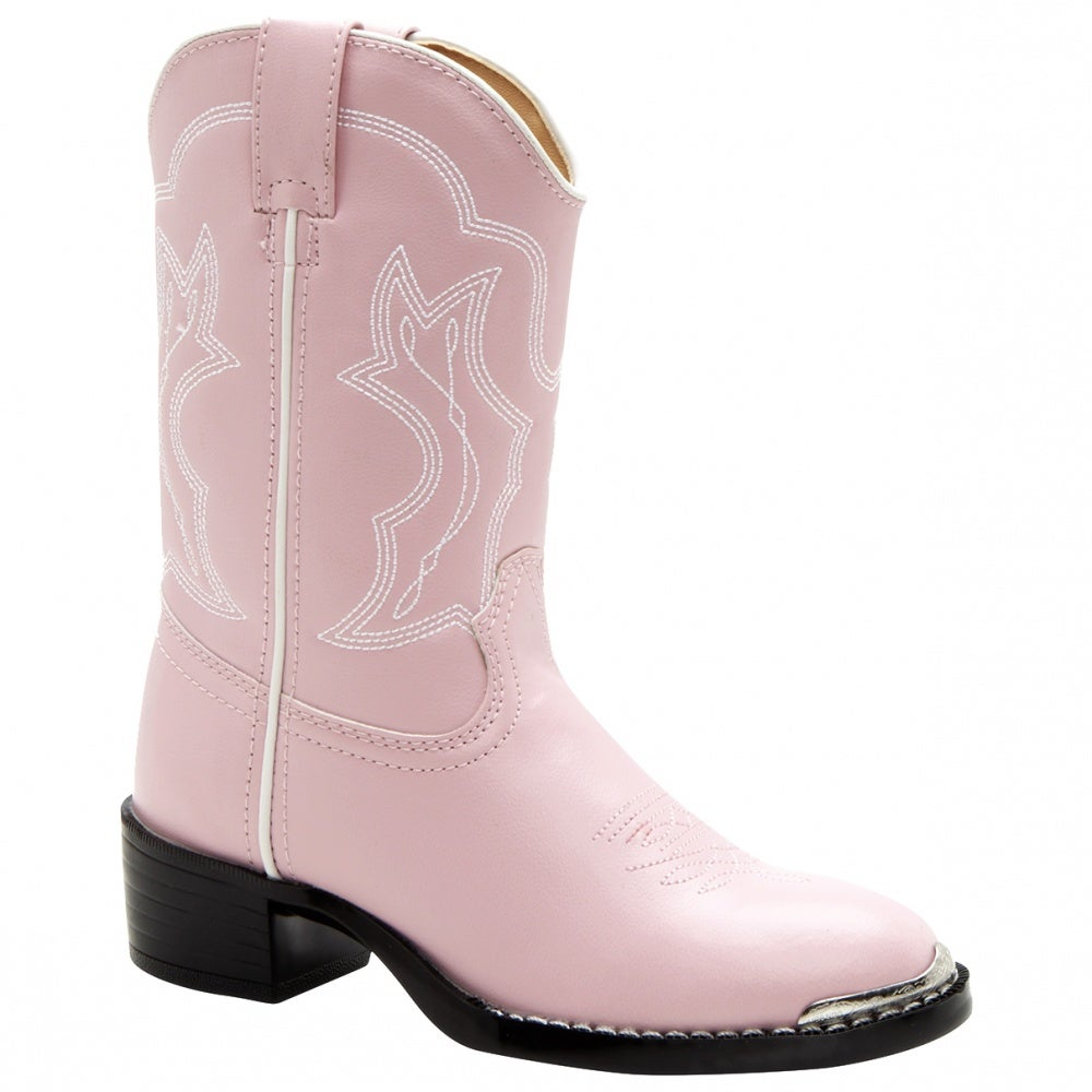 Lil Durango 8in Dusty Pink N Chrome Toddler/Youth