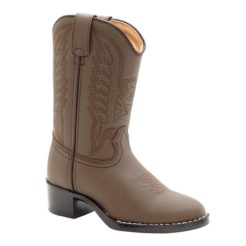 Durango Little Kid Brown Western Boot