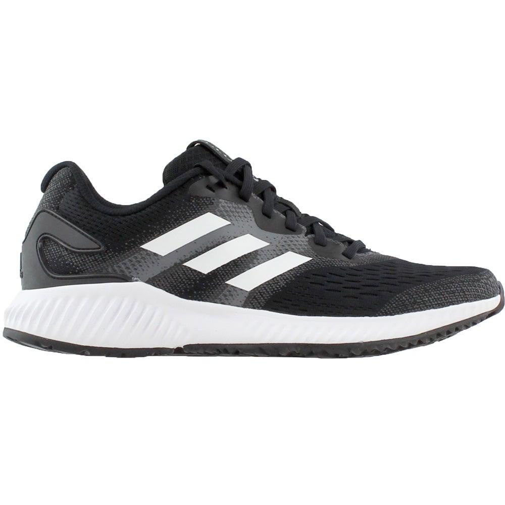2d25305e8e4a3 Details about adidas aerobounce Running Shoes - Black - Mens