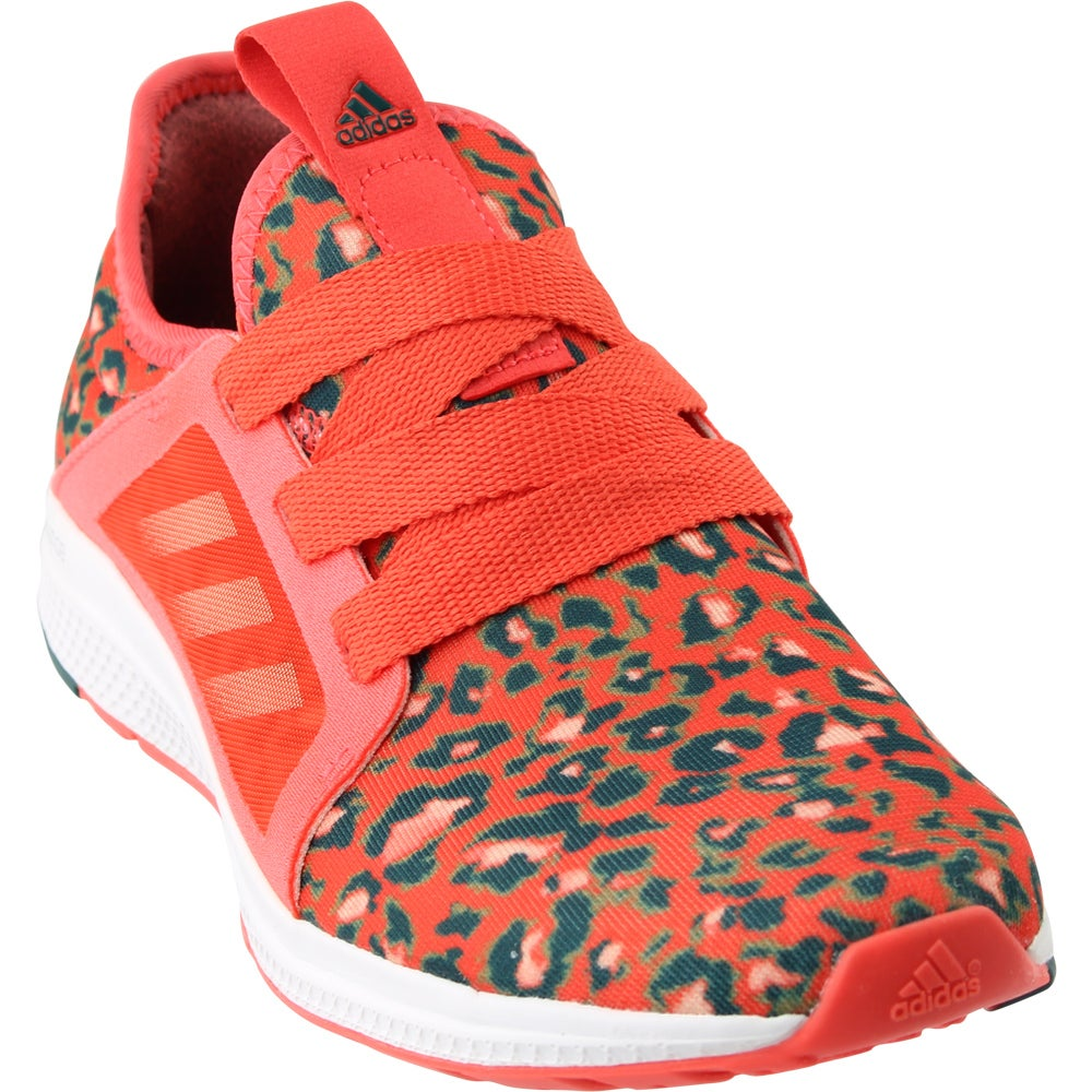 buy online 13d5f ea352 Details about adidas Edge Lux Running Shoes - Orange - Womens