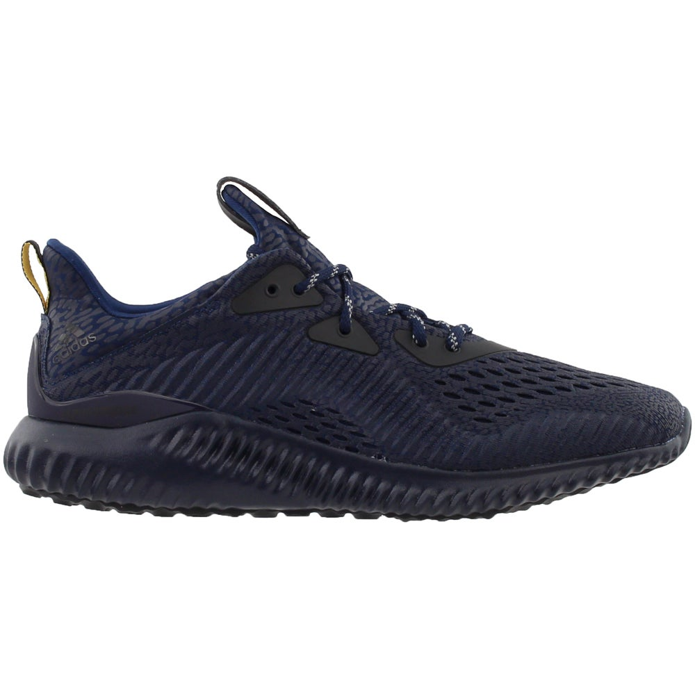 new product a5575 65e40 Details about adidas Alphabounce AMS Running Shoes - Blue - Mens