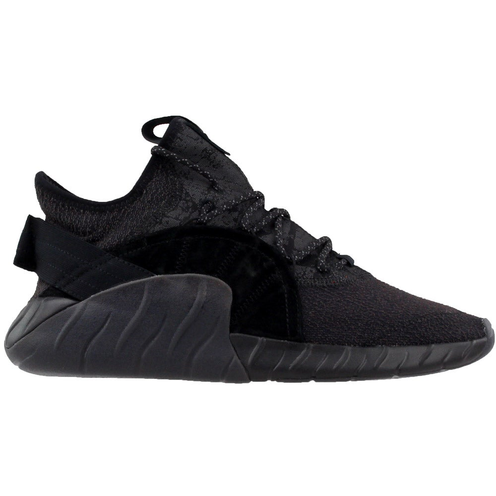 innovative design 557d2 32d0f Details about adidas Tubular Rise Running Shoes - Black - Mens