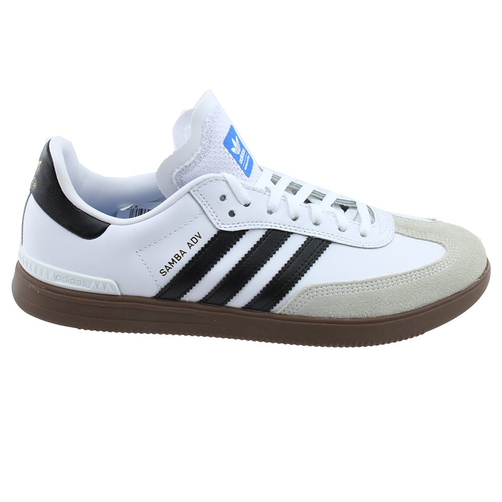 9c5fbbcf8bd Details about adidas SAMBA ADV Sneakers - White - Mens