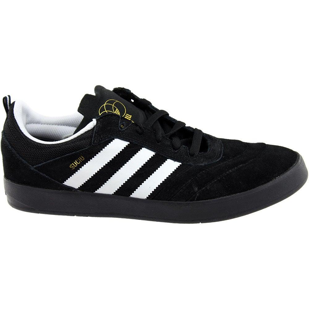 new product 8480e 05e1d Details about adidas SUCIU ADV Skate Shoes - Black - Mens
