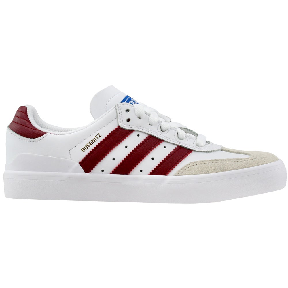 aa2b2a616ffbe Details about adidas BUSENITZ VULC RX Skate Shoes - White - Mens