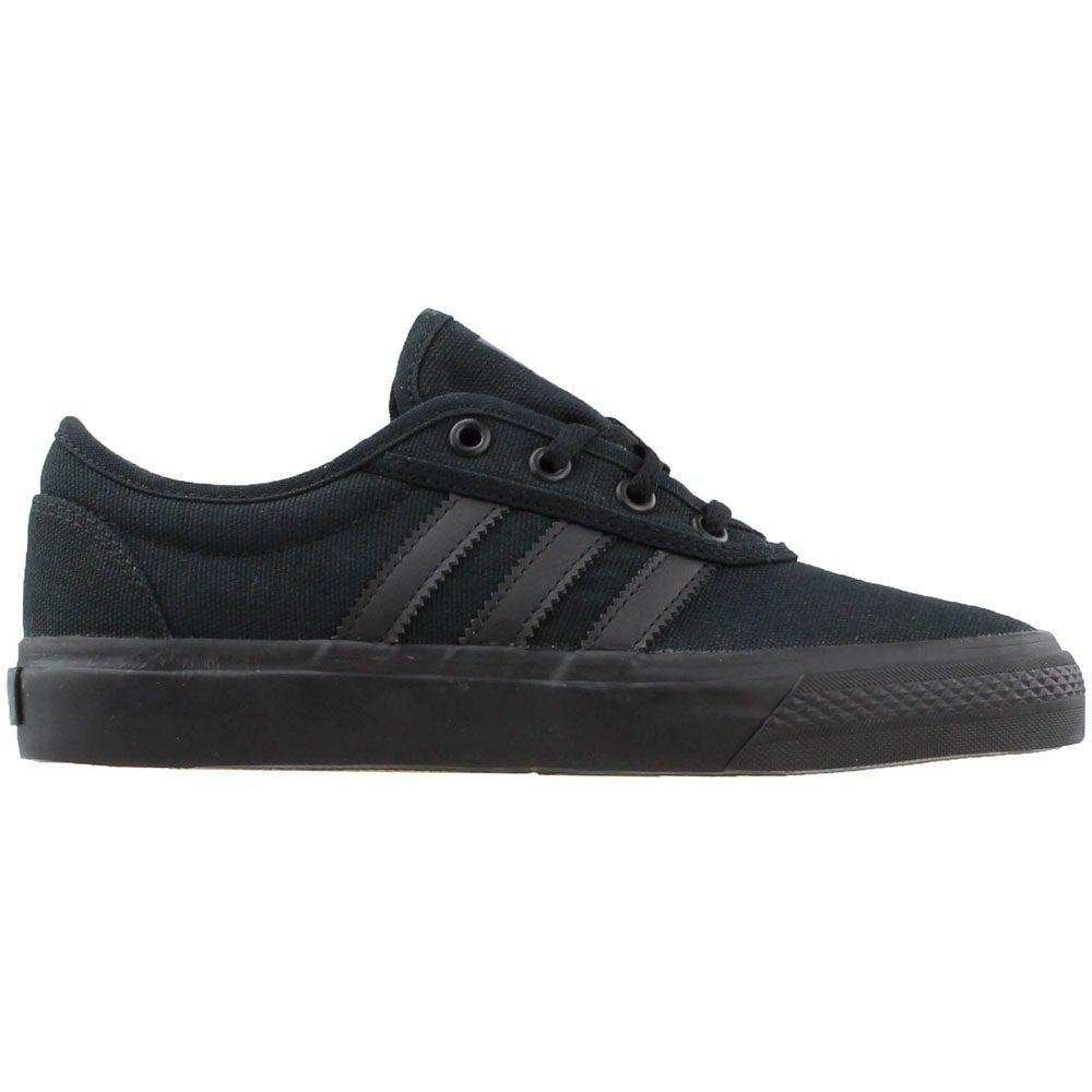 big sale 02561 536ad Details about adidas ADI-EASE Skate Shoes Black - Boys - Size 13 M