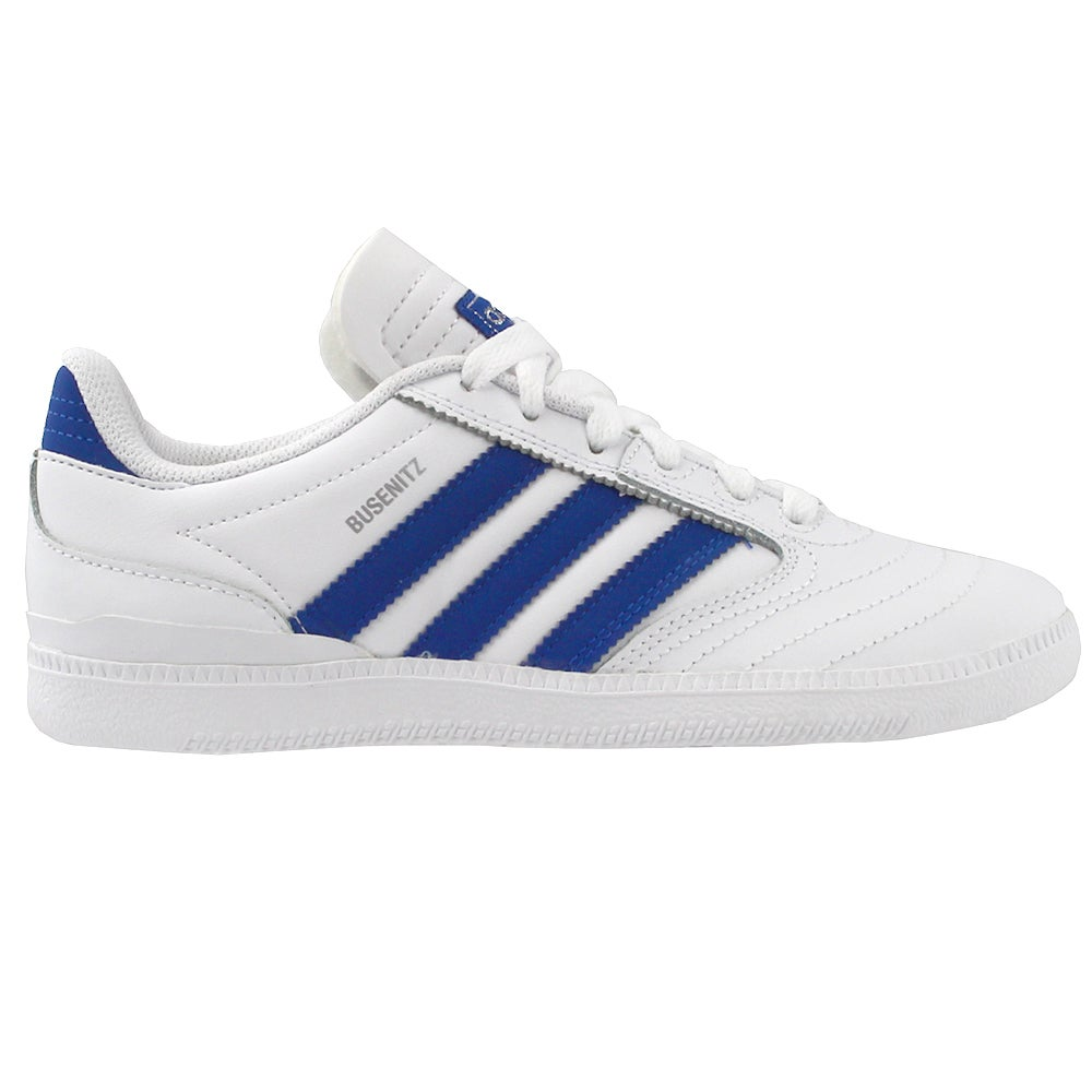 info for 16cda 2370d Details about adidas Busenitz Skate Youth Skate Shoes - White - Boys