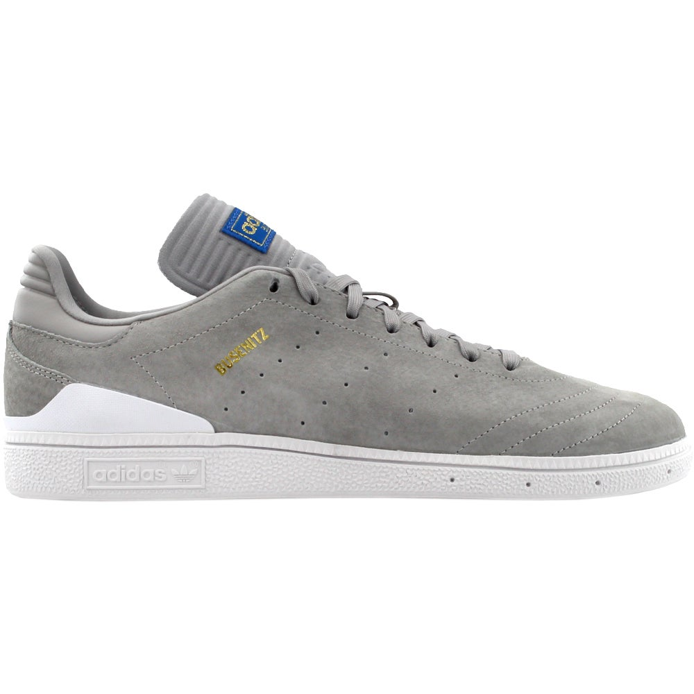 on sale 9a6b5 ff0b1 Details about adidas BUSENITZ RX Skate Shoes - Grey - Mens