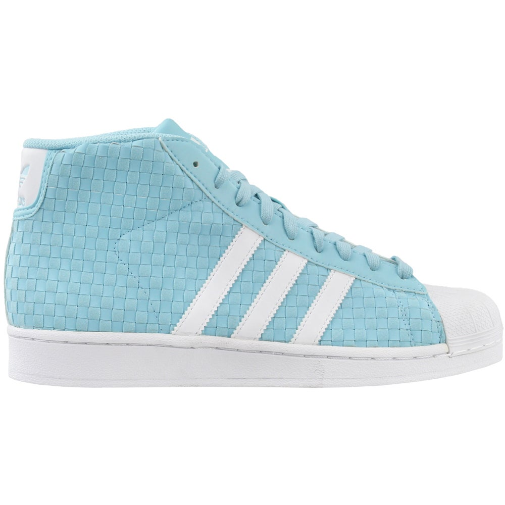 cefc1f45929 Adidas Pro Model Basketball Shoes Blue Mens