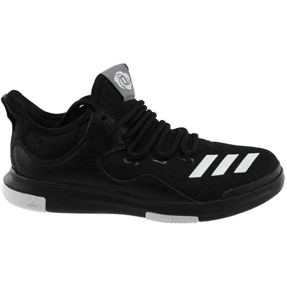 sale retailer c8245 8bc49 Details about adidas D Rose Lakeshore Ultra Low Sneakers - Black - Mens