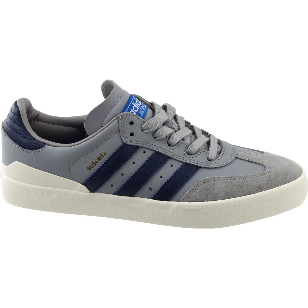 more photos 0833a 9820b Details about adidas Busenitz Vulc Samba Edition Skate Shoes - Grey - Mens