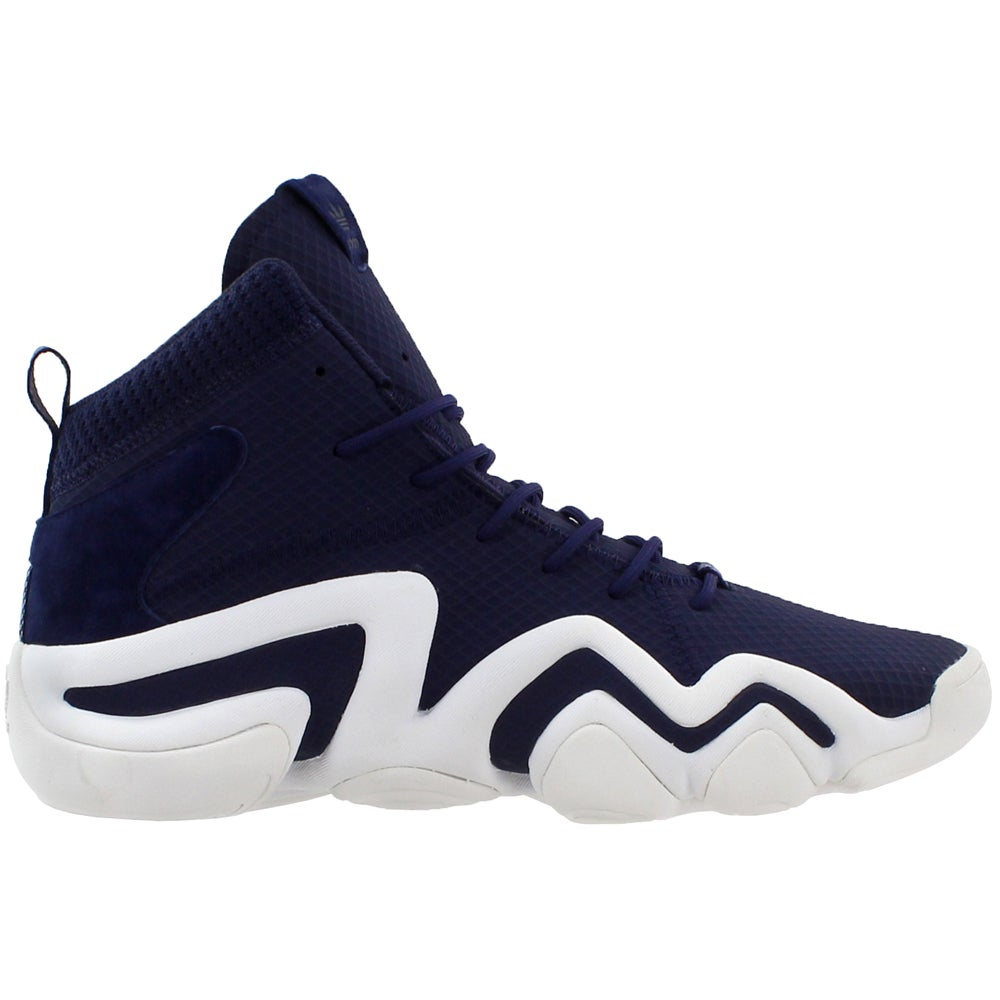 watch da3f4 aabbb Details about adidas Crazy 8 Adv Sneakers - Navy - Mens