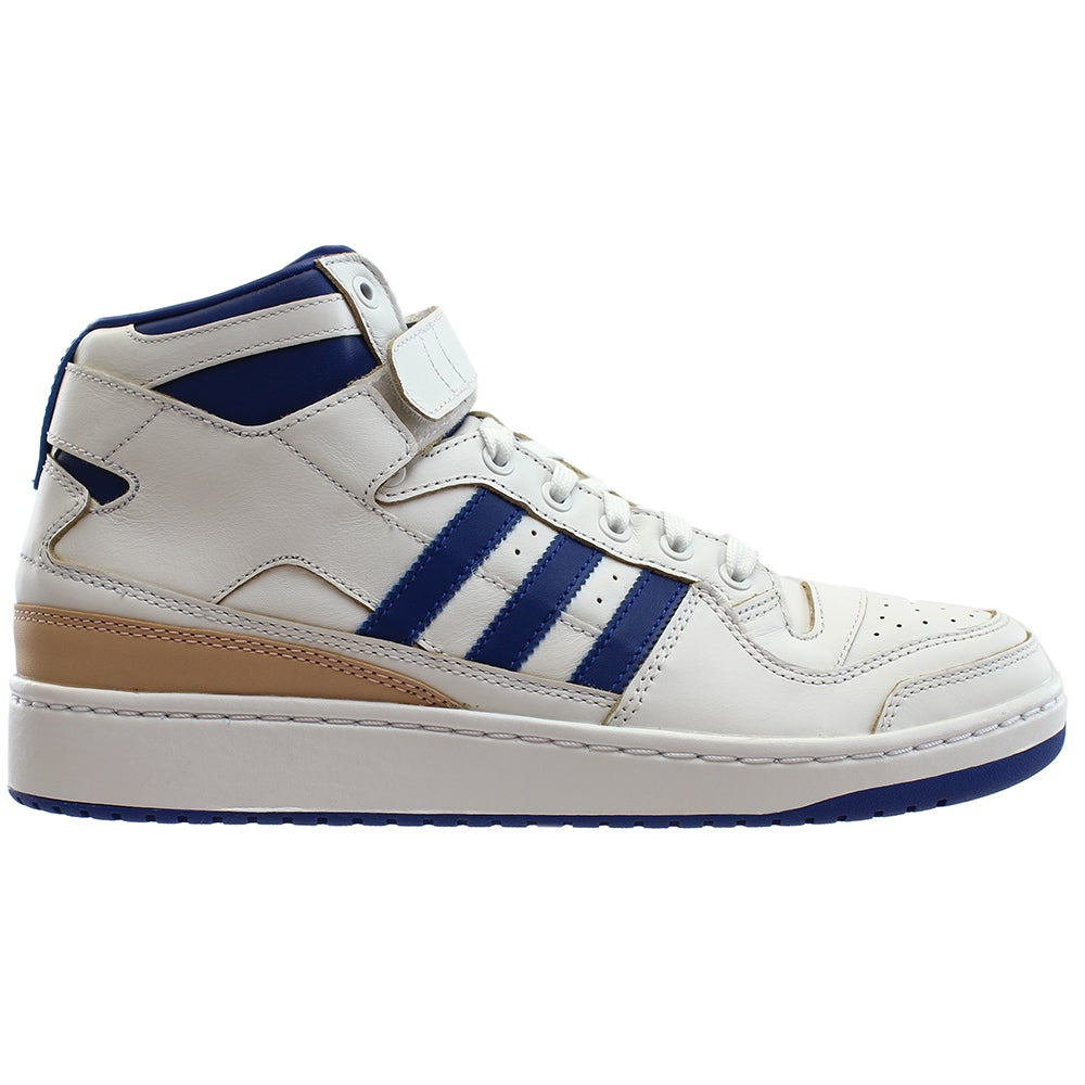 100% authentic fb11a 86f72 Details about adidas FORUM MID Sneakers - White - Mens