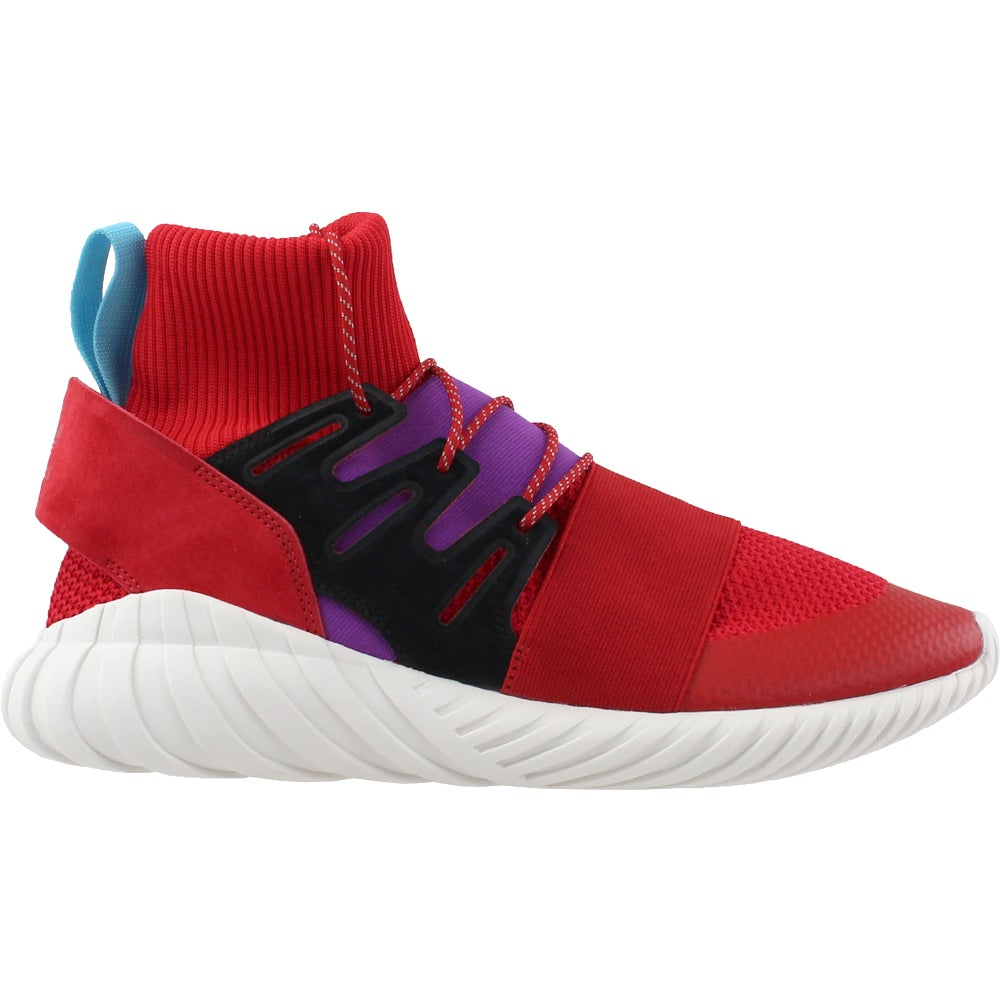 998410d71fa0de Details about adidas TUBULAR DOOM WINTER Sneakers - Red - Mens