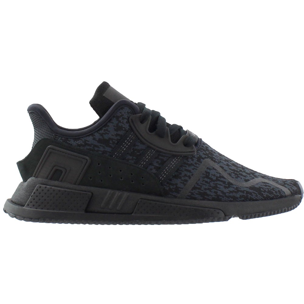 buy popular 41fb1 3e586 adidas EQT Cushion ADV Mens BY9507 Black Pixel Knit Athletic Shoes Size 5