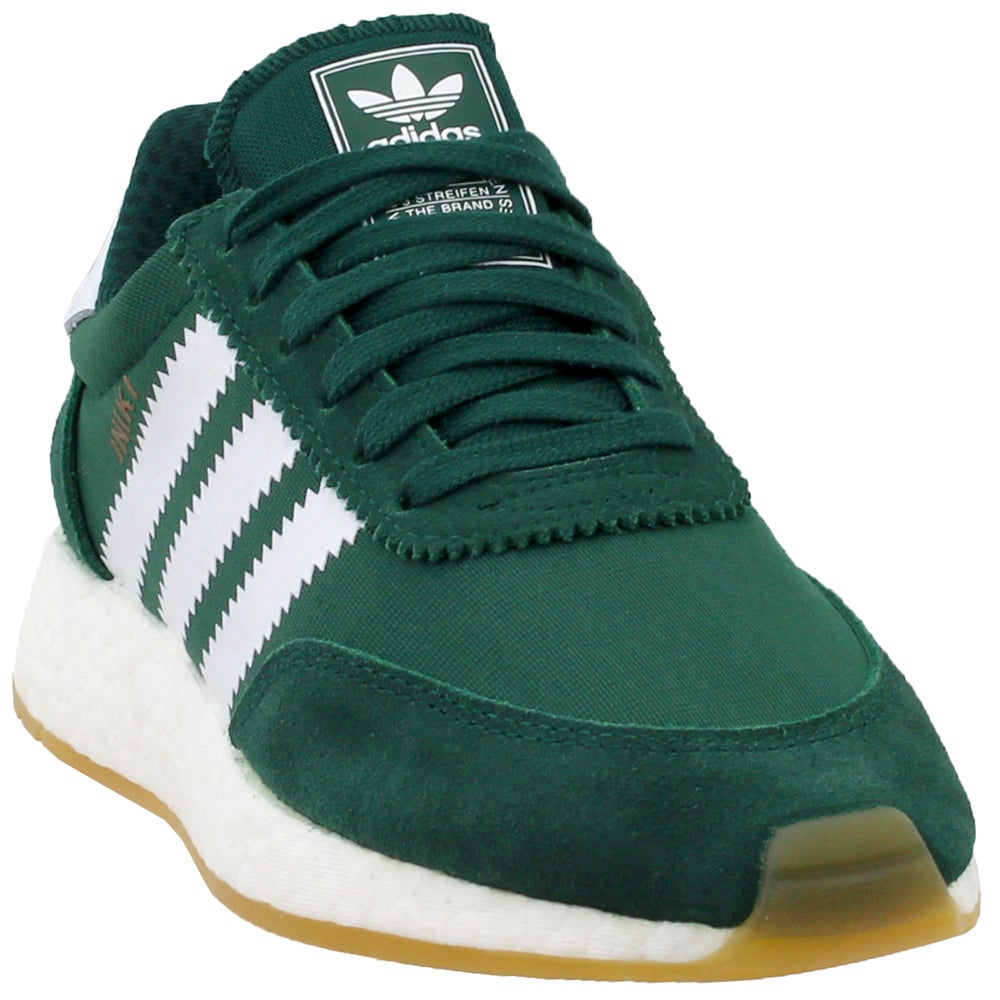 adidas I-5923 Green Mens Lace Up Sneakers