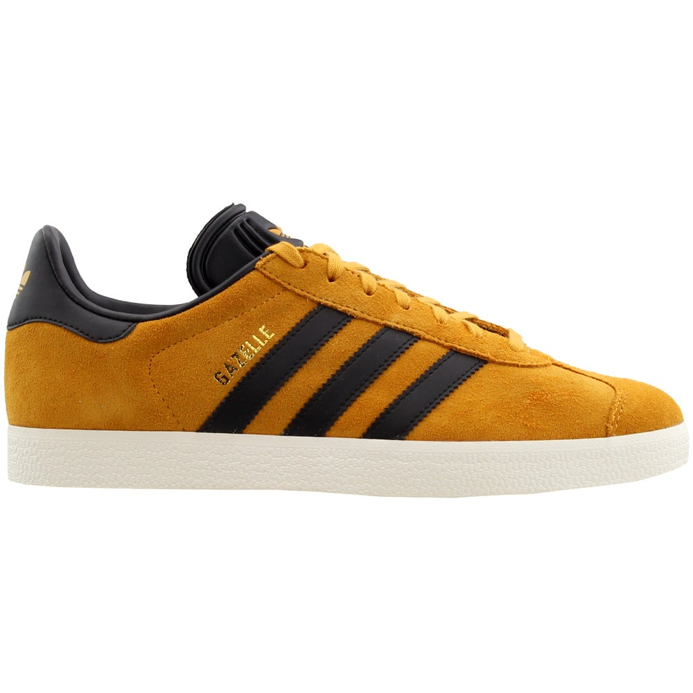 Details about adidas Gazelle Skate Shoes - Yellow - Mens c9b84f6b8