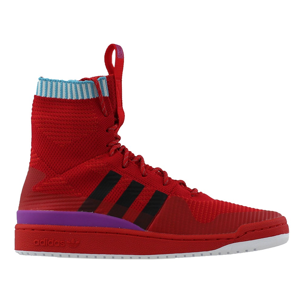 new styles 41ef8 8041e Details about adidas FORUM WINTER PK Basketball Shoes - Red - Mens