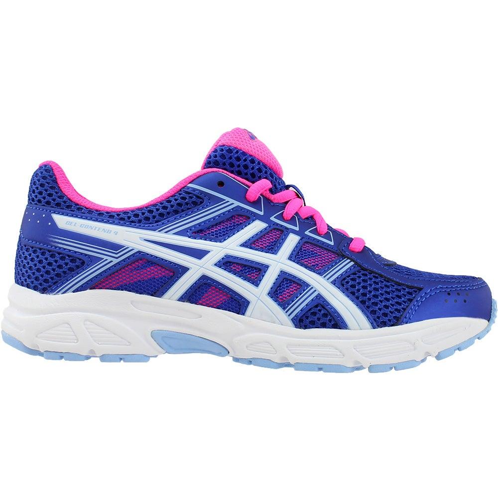 e63d0a8ae847d Details about ASICS Gel-Contend 4 Grade School Running Shoes - Purple -  Girls