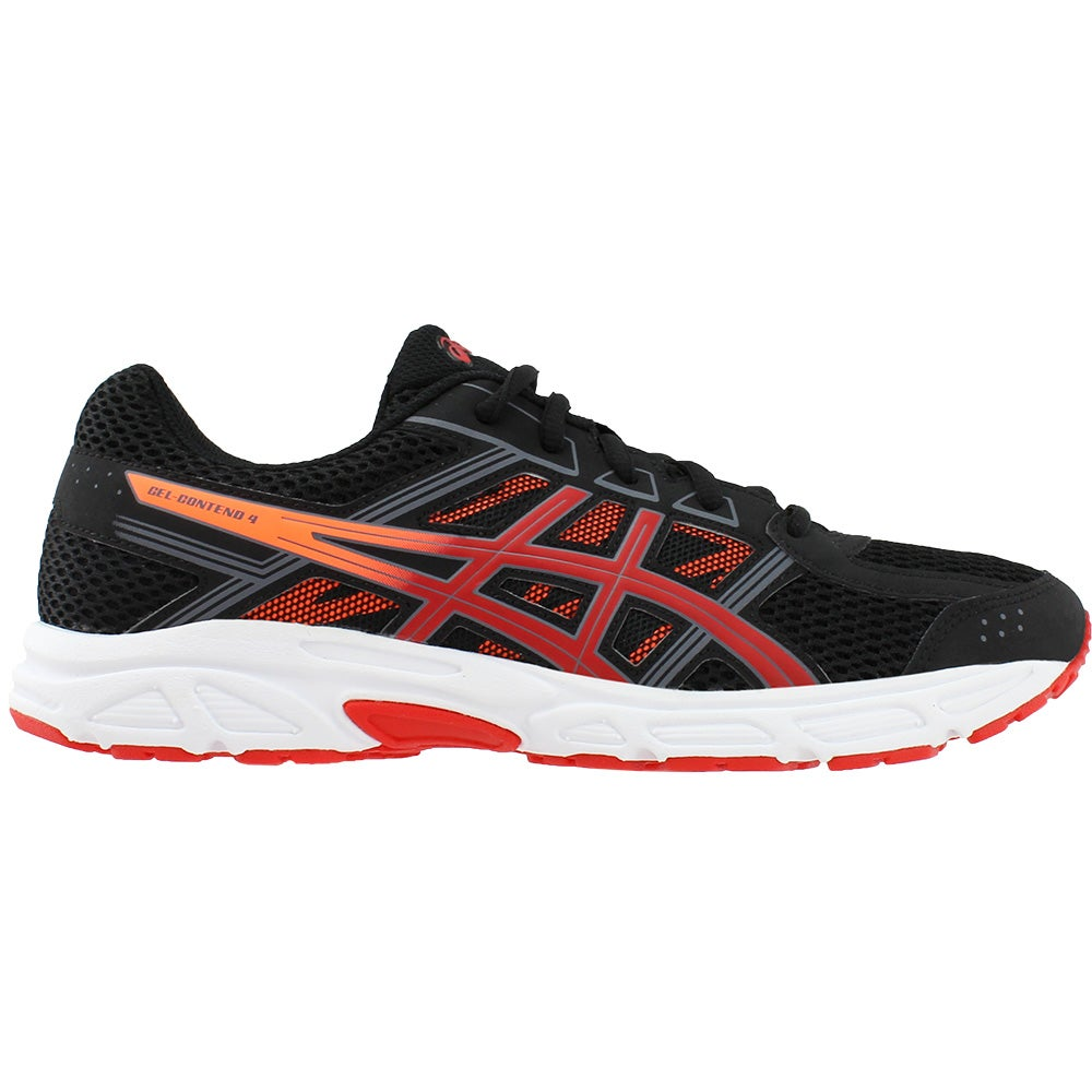 a28ecf2f9ded Details about ASICS Gel-Contend 4 Grade School Running Shoes - Black - Boys