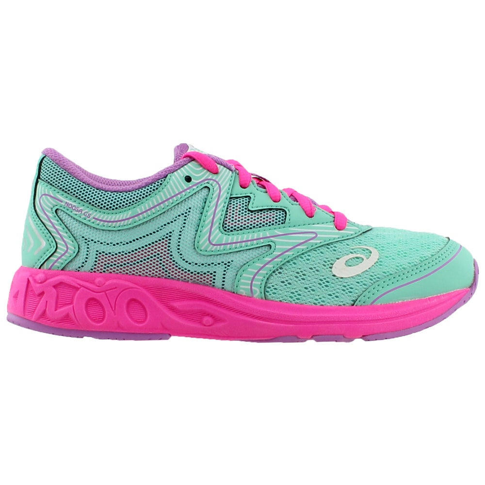 8ad9702fc ASICS Noosa GS Running Shoes - Green - Girls