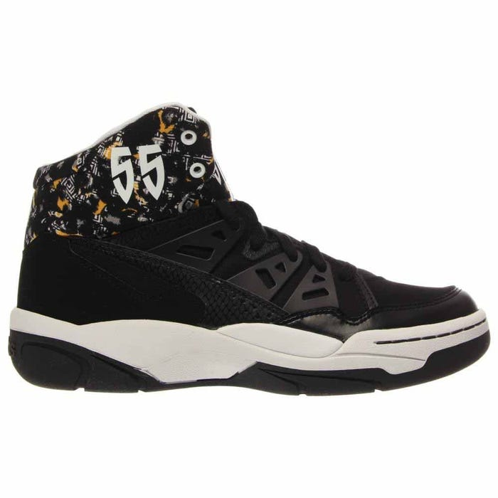 adidas Mutombo Black Basketball Shoes and get free shipping on ... ab413ed3b
