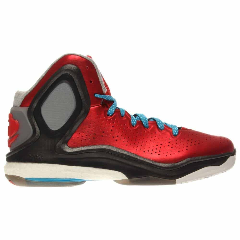 adidas D Rose 5 Boost J Red - Mens  - Size
