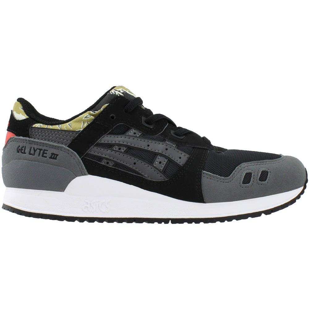 low priced 2ac3d 4f43e Details about ASICS GEL-LYTE III PreSchool Sneakers Black - Boys - Size 3 M