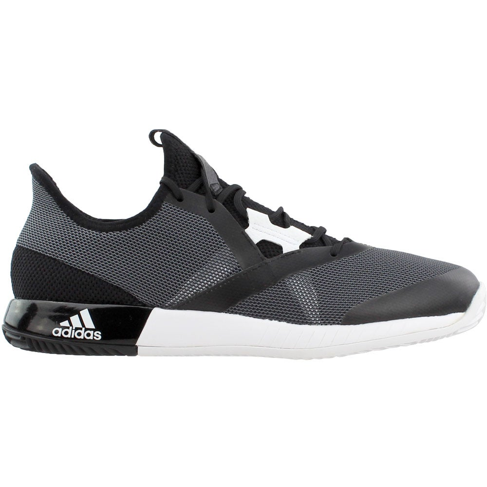 new style 91979 414b4 Details about adidas Adizero Defiant Bounce Tennis Shoes - Black - Mens